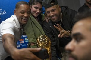 Will Smith, Nicky Jam y Kosovar actuarán en la final del mundial 2018. Foto AP