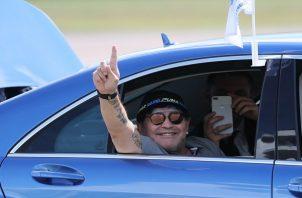 Maradona es amigo de Maduro.
