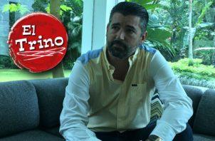 El barítono Ricardo  Velásquez tiene planes para el interior del país. Juan Carlos Lamboglia