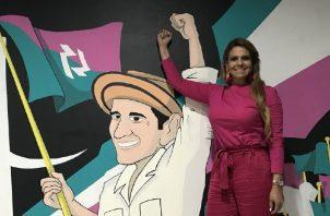 Diputada Mariela Vega es una de las líderes CD en esta provincia. /Foto Twitter