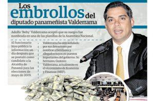 Diputado del Partido Panameñista Beby Valderrama