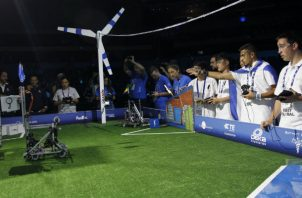México es sede del Mundial de Robótica FIRST Global Challenge 2018. Foto/EFE