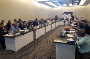 Concertación Nacional se pronuncia por crisis en la Administración de Justicia. Foto/Victor Arosemena