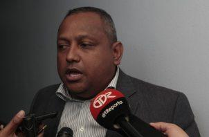 Raúl Pineda, vicepresidente de la Comisión de Presupuesto. Víctor Arosemena