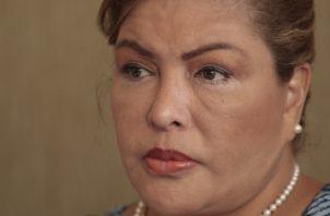 Alma Cortés fue la encargada de presentar  los recursos no admitidos.