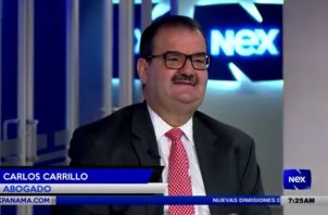 Carlos Carrillo señaló que presentarán objeciones a las pruebas de fiscalía. / Foto: NexTv.