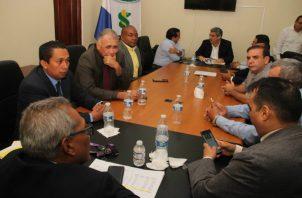 La reunión tuvo una duración de tres horas. / Cortesía: @MINSA_Panama