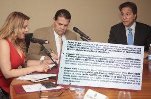 Comisión de Credenciales analizará denuncias contra Harry Díaz.