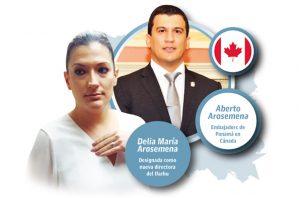 Delia María Arosemena es hermana de Alberto Arosemena Medina