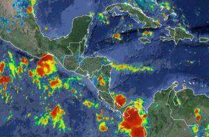Las lluvias estarían acompañadas por actividad eléctrica./ Foto: @servir_nasa