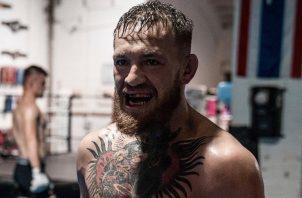 Conor McGregor  vuelve a la UFC el otro mes.