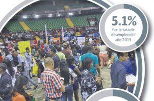 La fuerza laboral aumentó anualmente en 43 mil 408 personas en promedio.