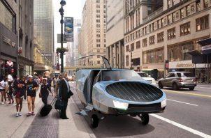 Utilizará motores de helicóptero y después harán una  versión para utilizar hidrógeno como combustible. Fotos:  Urban Aeronautics