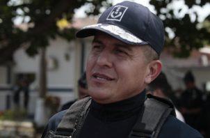 Javier Fanuco, comisionado de la Policía Nacional. Archivo