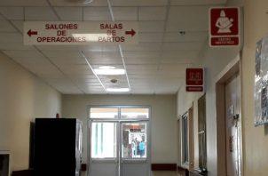 Los quirófanos del hospital Joaquín Pablo Franco Sayas, fueron cerrados días para mantenimiento.Foto/Thays Domínguez