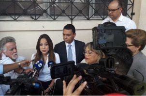 Periodista de Nex Noticias, Guadalupe Castillero.