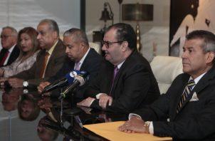Defensa de Ricardo Martinelli en conferencia de prensa del día de ayer.