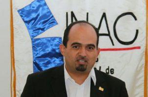El subdirector del Inac, Juan Francisco Guerrero