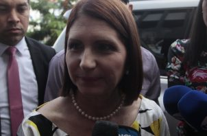 Marta Linares de Martinelli, ex primera dama de la República.