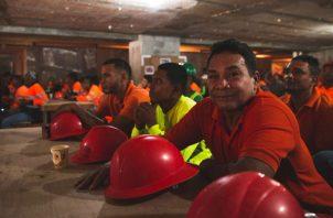 Suntracs exige a empresarios cumplir con las normas de seguridad en los proyectos de contrucción. Foto/Cortesía