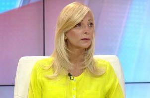 Isabella Stanziola dio declaraciones en Telemetro el 20 de enero de 2015.