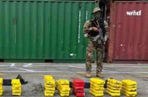 El zolpidem venía entre cargamentos de cocaína y marihuana. Foto: Cortesía