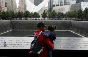 Recuerdan a víctima de los atentados a las Torres Gemelas de Nueva York. Foto