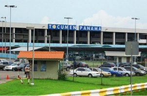 El Aeropuerto Internacional de Tocumen. Foto: Archivo