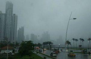 Advierten sobre lluvias en diferentes regiones del país. Foto: Archivo