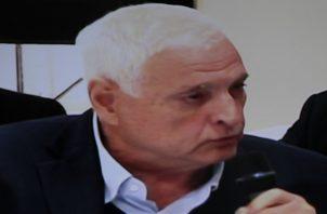 Ricardo Martinelli, expresidente de la República de Panamá.