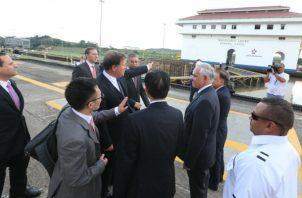 Embaja China en las riberas del Canal de Panamá desata polémica. Foto/Cortesía