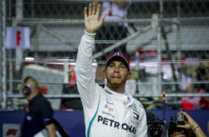 El piloto británico Lewis Hamilton. Foto:AP