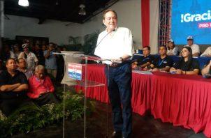 Laurentino 'Nito' Cortizo es el segundo candidato presidencial formal para 2019. / Foto: Víctor Arosemena/Panamá América