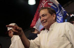 Laurentino Cortizo prometió un Panamá con ley y orden, pero sobre todo, con justicia social.  Víctor Arosemena
