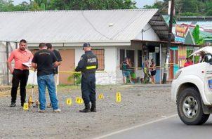 El hombre ejecutado recibió 34 impactos de balas por sujetos en Costa Rica.