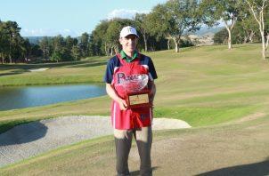 Scott Langley, campeón del Panamá Championship 2018, jugará la otra temporada en el PGA Tour. Anayansi Gamez