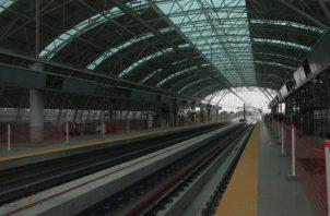 Línea 2 del Metro de Panamá. /Foto Víctor Arosemena