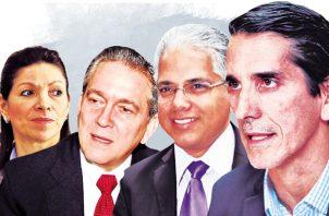 Candidatos a la presidencia en las elecciones 2019.