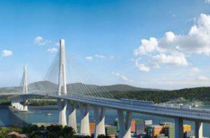 El Cuarto Puente sobre el Canal de Panamá tiene un costo aproximado de $1,500 millones. Archivo