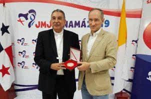 Antonio Olivié, periodista español, compartió con periodistas panameños experiencias de la JMJ.