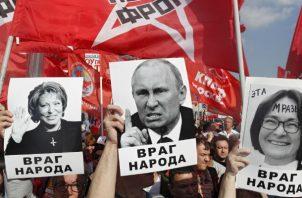 En vísperas de la segunda lectura de la ley, prevista inicialmente para el 24 de septiembre, los comunistas tienen previsto movilizar a sus seguidores en 116 localidades.