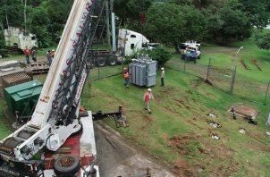 El cambio del transformador en la Potabilizadora de Laguna Alta en Arraiján se realizará del jueves 17 al viernes 18 de octubre.