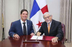 Jaime A. Sosa Berbey tomó posesión de su cargo el pasado viernes 11 de octubre. Foto: Cancillería.