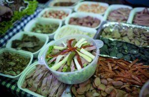 Plato de la comida típica de Guatemala.