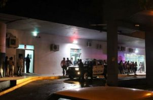 El hecho ocurrió pasada las 10:00 de la noche, del domingo 13 de octubre,  en uno de los edificios  de Alto de Los Lagos en Colón.