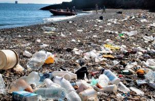 Realidades del plástico oceánico.