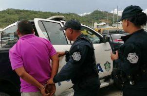 La unidad policial fue denunciada por un comerciante del distrito de Arraiján. Foto: Eric A. Montenegro.