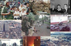Según la Comisión de la Verdad contabilizó 250 muertes durante la invasión. Foto: Archivo Epasa.