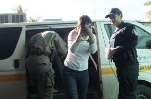 La mujer tendrá que firmar los 17 de cada mes mientras dure la investigación. Foto: Archivo Epasa.