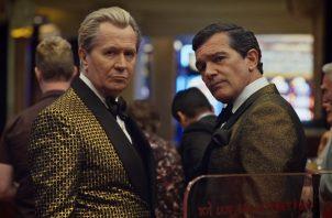 Los actores Gary Oldman y Antonio Banderas interpretan a los  abogados del bufete panameño Mossack Fonseca.